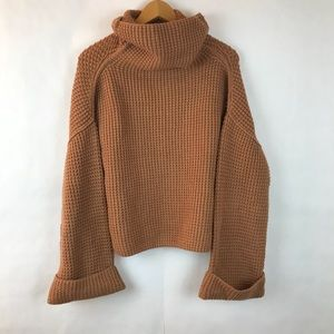 {FREE PEOPLE} Park City Pullover in Brown XS